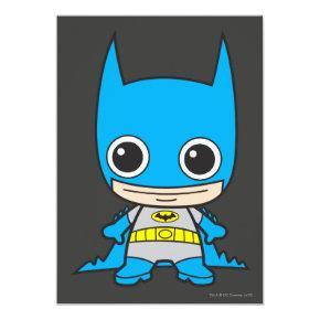 Mini Batman Invitations