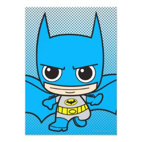 Mini Batman Running Card