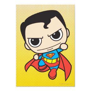 Mini Superman Flying Invitation