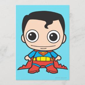 Mini Superman Invitation