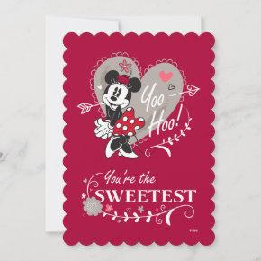 Minnie Mouse You're the Sweetest Valentine Holiday
