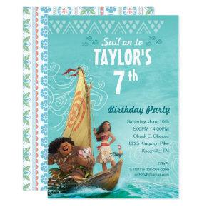 Moana | Oceania Birthday  Invitation