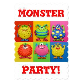 Monster Party Invitation