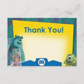Monsters Inc. Thank You