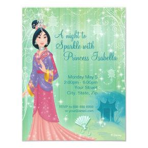 Mulan Birthday Invitations