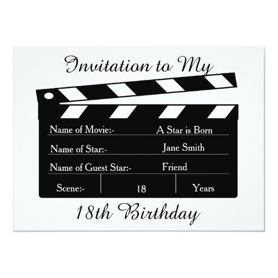 My 18th Birthday Party Invitation Candied Clouds