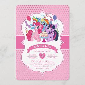 My Little Pony | Pink Birthday Invitation