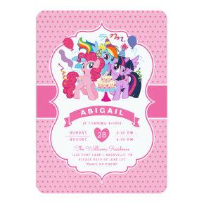 My Little Pony | Pink Birthday Invitations