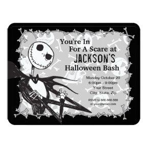 Nightmare Before Christmas Halloween Party Card