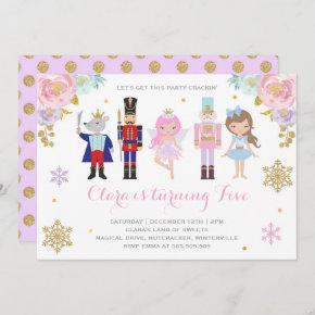 Nutcracker Invitation Sugar Plum Fairy Invitation