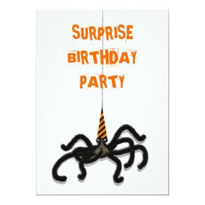 October Birthday Party Card