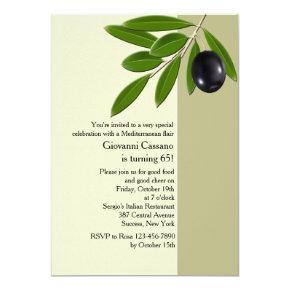 Olive Branch Invitation