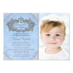 Once Upon a Time Photo Princess Birthday Invitation