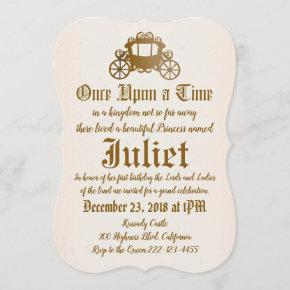 Once Upon a Time - Princes Invitation