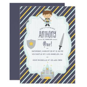 Our Little Prince Birthday Party Invitations