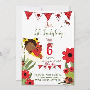 Our Love Bug Birthday Invitation