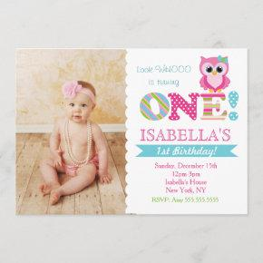 Owl Birthday Party  for Girl