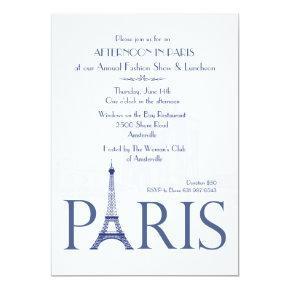 Paris Invitations