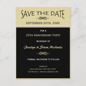 Party, Reunion, Event Save the Date Post