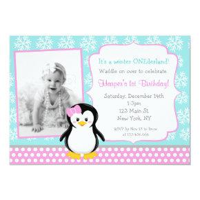 Penguin Winter ONEderland Birthday