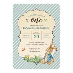 Peter Rabbit | Baby's First Birthday Card