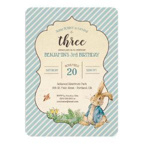 Peter Rabbit | Birthday Invitation