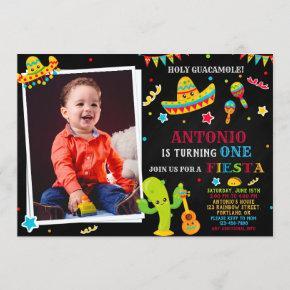 Photo Fiesta invitation Fiesta birthday invitation