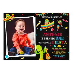 Photo Fiesta invitation Fiesta birthday invitation
