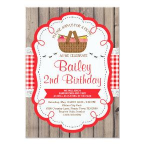 Picnic basket birthday invitations candied clouds picnic birthday party invitation park party filmwisefo