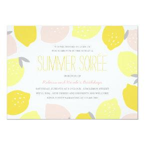 Pink Lemonade Party Invite
