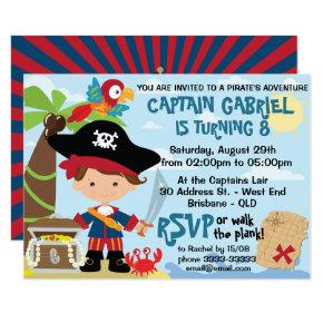 Pirate Party Birthday