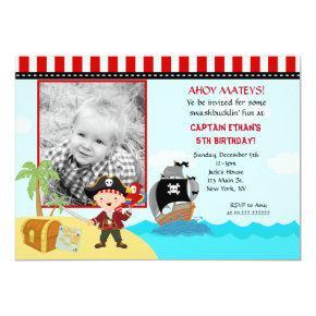 Pirate Photo Birthday Party