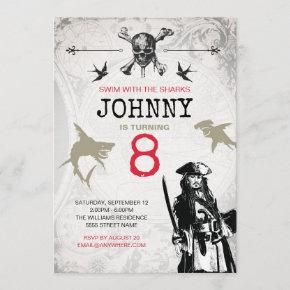 Pirates of the Caribbean | Birthday Invitation