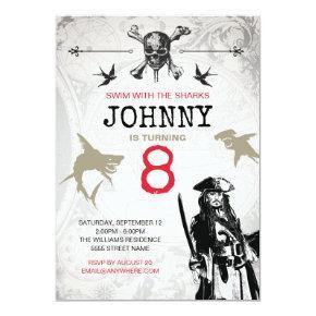 Pirates of the Caribbean | Birthday Invitation