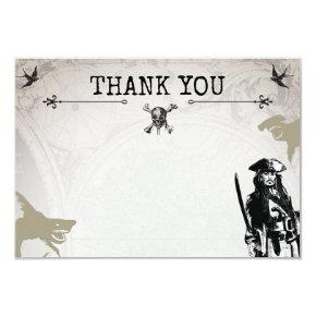 Pirates of the Caribbean | Thank You Card