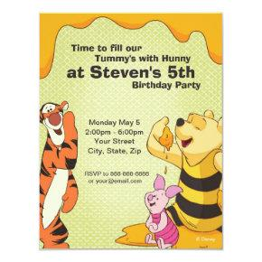 Pooh and Pals Birthday Invitations