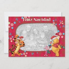 Pooh & Friends: Feliz Navidad Greeting