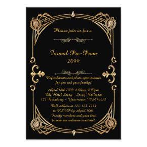 Pre-Prom invitation, Pre Prom, Quinceanera,Sweet16 Invitation