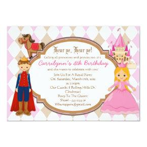 Princess and Prince - Birthday Party