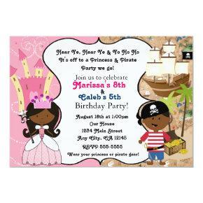 Princess & Pirate Dark Skin Ethnic