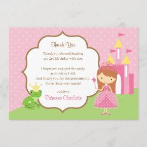 Princess Thank You  (Brunette Red Hair)