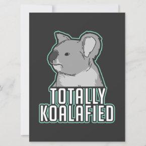 Pun - Totally Koalafied