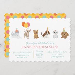 Puppy Birthday Party Invitation