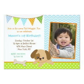 Puppy Photo Birthday Party  for boys