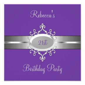 21st birthday invitations candied clouds