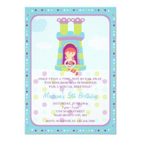Rapunzel Birthday Invitations