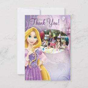 Rapunzel Birthday Thank You