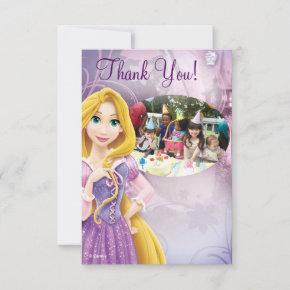 Rapunzel Birthday Thank You