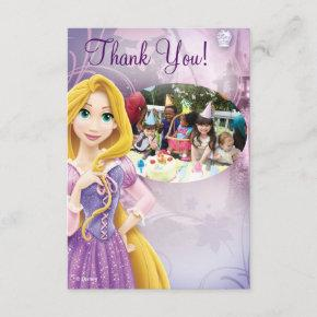 Rapunzel Birthday Thank You Invitations