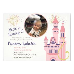 Rapunzel Photo Birthday Party Invitation